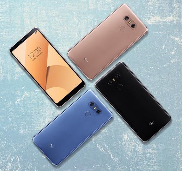 El nuevo LG G6+ ahora es el más poderoso y elegante hasta el momento.
