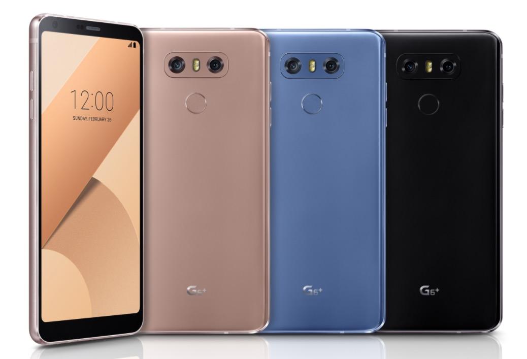 El nuevo LG G6+ ahora es el más poderoso y elegante hasta el momento. 3